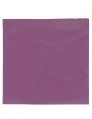 50 tovaglioli color prugna