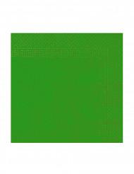 50 tovaglioli di carta verdi