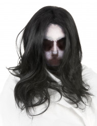 Passamontagna con parrucca da fantasma