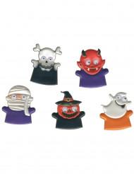 Marionette per dita con mostriciattoli
