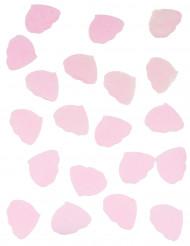 Coriandoli di carta petali di rosa rosa