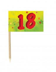 10 bandierine per compleanno 18 anni