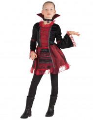 Costume imperatrice vampiro per bambina Halloween