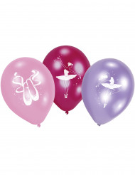 6 palloncini in lattice Ballerina