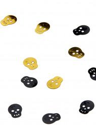 Coriandoli a forma di teschio pirata