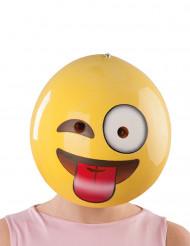 Maschera faccina sorridente per adulti