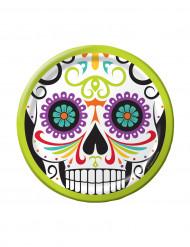 8 piattini Dia de los muertos