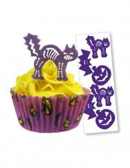 12 decorazioni di zucchero per Halloween