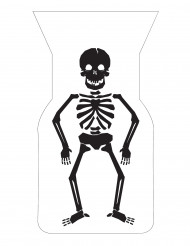 20 bustine per caramelle con scheletro
