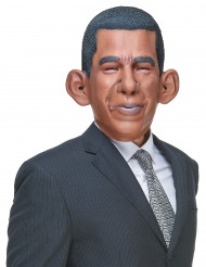 Maschera umoristica in lattice Barack Obama