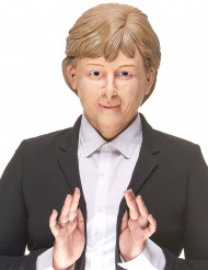 Maschera umoristica in lattice Angela Merkel