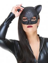 Mezza maschera in lattice da gatto per donna