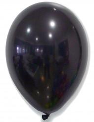 50 palloncini neri lucidi