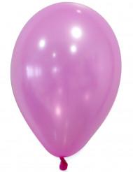 50 palloncini rosa metallizzato