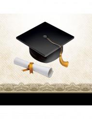 16 tovagliolini di carta laurea