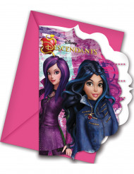 6 inviti di compleanno e buste Descendants™