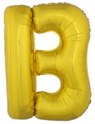 Palloncino gigante lettera B dorata