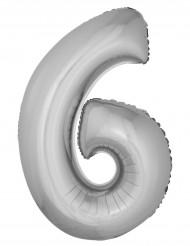 Palloncino alluminio gigante 6 argentato