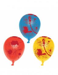 6 palloncini in lattice insanguinati