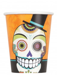 8 bicchieri Day of the dead 27 cl