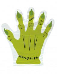 10 bustine con la mano di Frankenstein