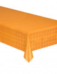 Tovaglia di carta in rotolo effetto damascato mandarino