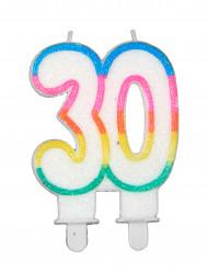 Candela di compleanno 30 anni
