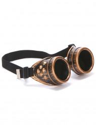 Occhiali color bronzo da aviatore per adulti