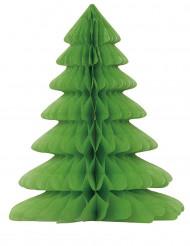 Albero di Natale in carta alveolata
