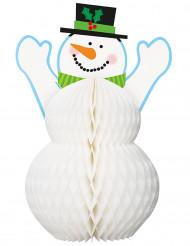 Decorazione pupazzo di neve 30 cm