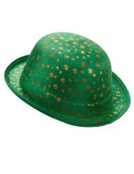 Cappello a bombetta verde per San Patrizio per adulti