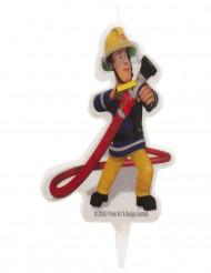 Candelina di compleanno Sam il pompiere™