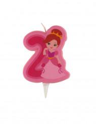 Candelina con principessa numero 2