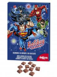 Calendario dell'avvento super eroi