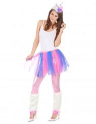 Costume unicorno colorato donna