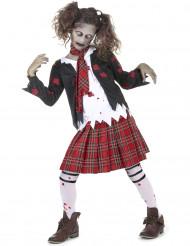 Costume scolaretta zombie per bambina