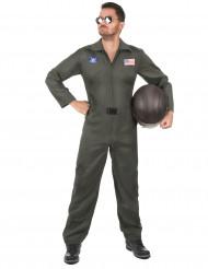 Costume pilota d'aereo per adulto