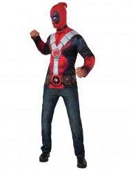 Kit maglia e passamontagna Deadpool™ adulto 7b73b5b9c07