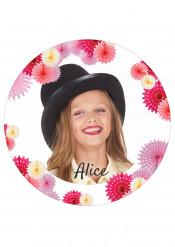 Disco di zucchero personalizzabile con rosoni