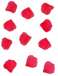 150 petali di rosa in tessuto rosso