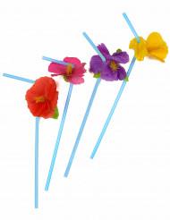 12 cannucce con fiore