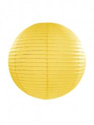 Lanterna giapponese gialla 35 cm