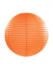 Lanterna giapponese arancione 35 cm