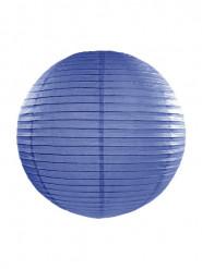 Lanterna giapponese color blu reale 35 cm