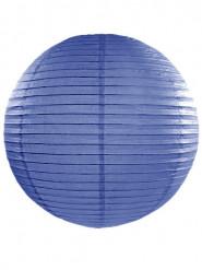 Lanterna giapponese color blu reale 45 cm