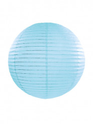 Lanterna giapponese celeste 35 cm