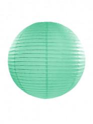 Lanterna giapponese color menta 35 cm