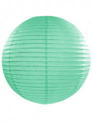 Lanterna giapponese color menta 45 cm