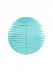 Lanterna giapponese turchese 25 cm