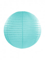 Lanterna giapponese turchese 35 cm